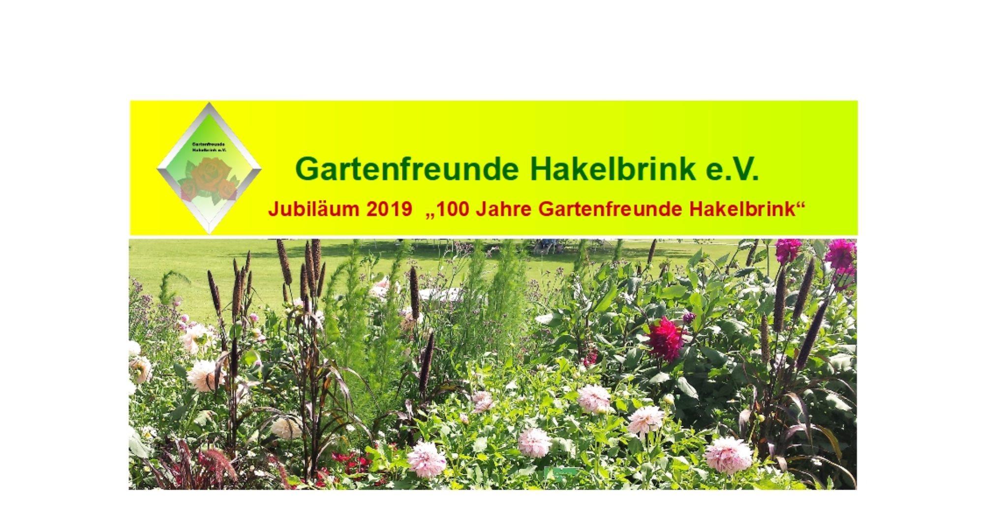 Gartenfreunde Hakelbrin e. V.